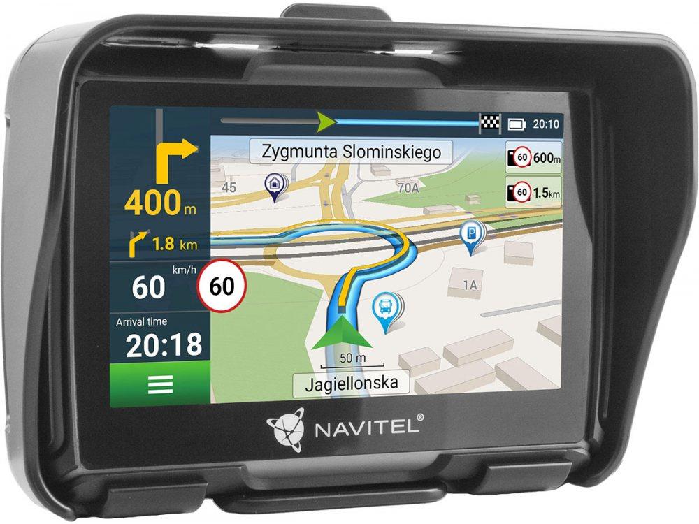 GPS НАВИГАЦИЯ ЗА МОТОЦИКЛЕТ NAVITEL G550 MOTO 1