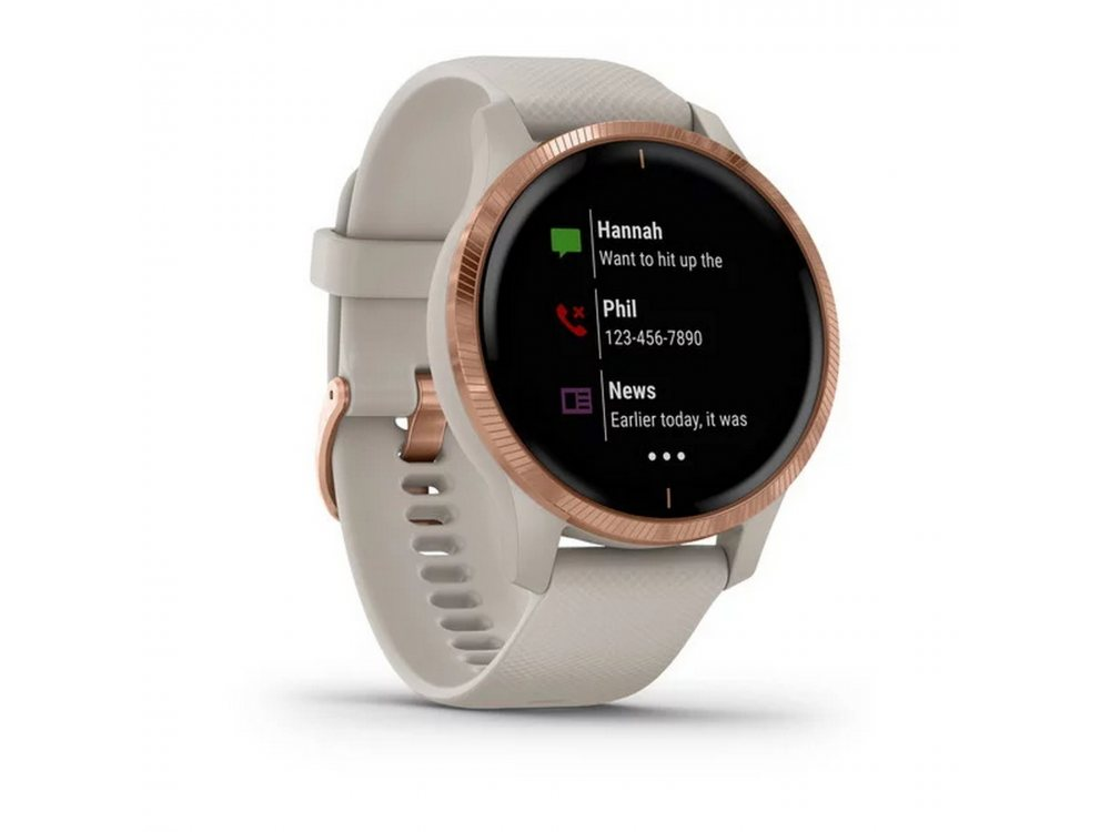 GARMIN VENU LIGHT SAND С ROSE GOLD 2