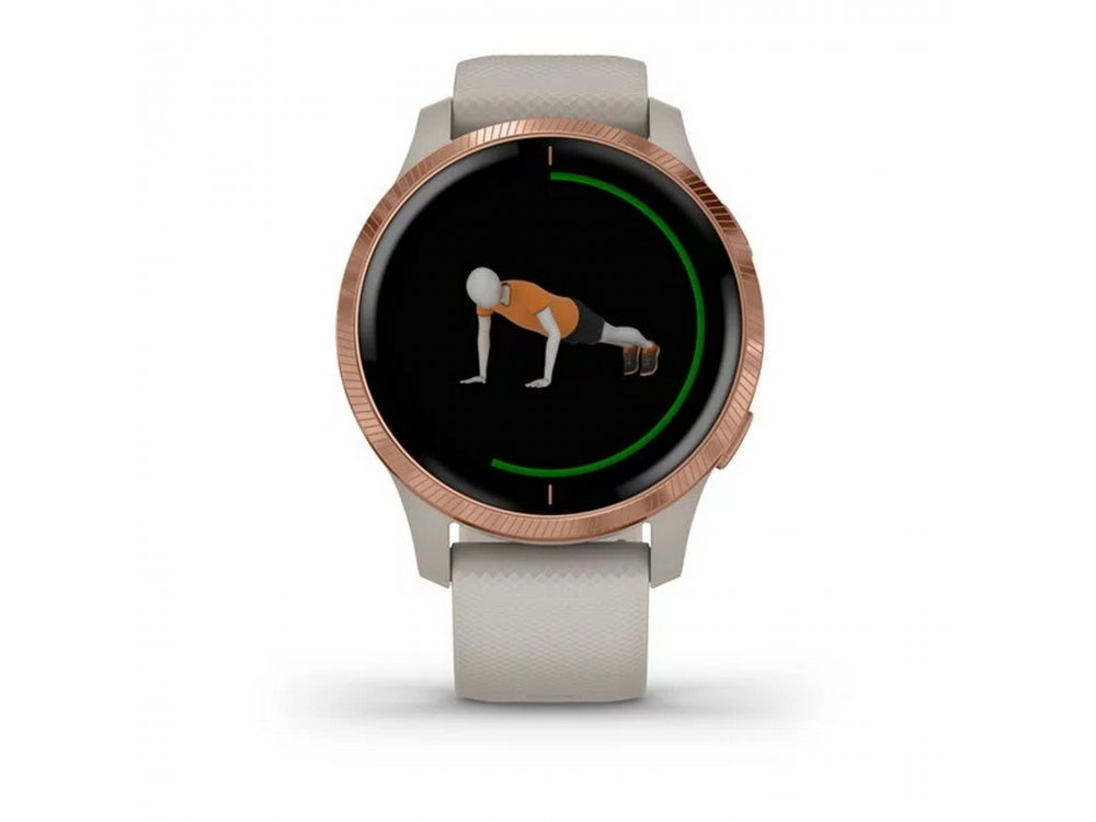 GARMIN VENU LIGHT SAND С ROSE GOLD 4