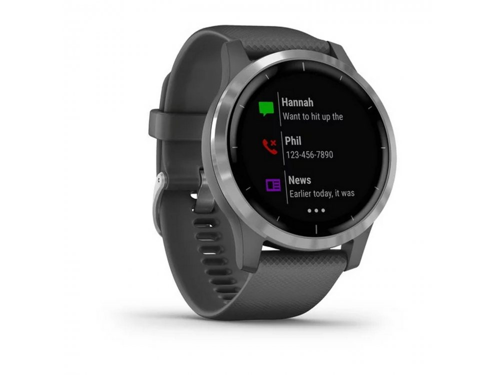 GARMIN VIVOACTIVE 4 SHADOW GRAY/SILVER 2