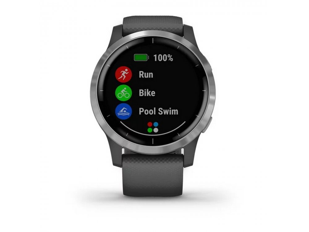 GARMIN VIVOACTIVE 4 SHADOW GRAY/SILVER 3