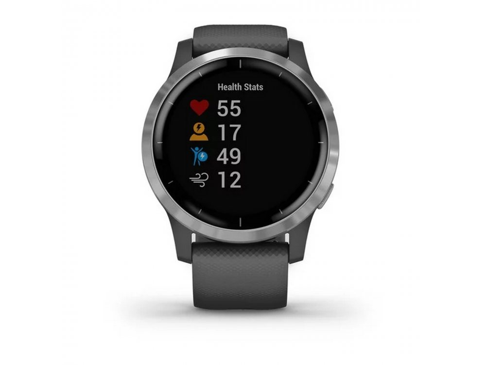 GARMIN VIVOACTIVE 4 SHADOW GRAY/SILVER 1