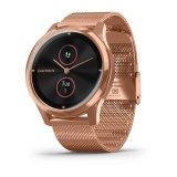 Garmin Vivomove Luxe 18K Rose Gold с Milanese каишка