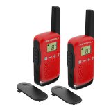 Радиостанции Motorola T42 Red два броя в кутия
