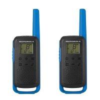 Радиостанции Motorola T62 Blue два броя в кутия