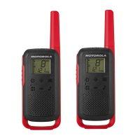 Радиостанции Motorola T62 Red два броя в кутия