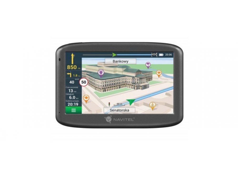 GPS НАВИГАЦИЯ NAVITEL E505 MAGNETIC EUROPE LIFETIME
