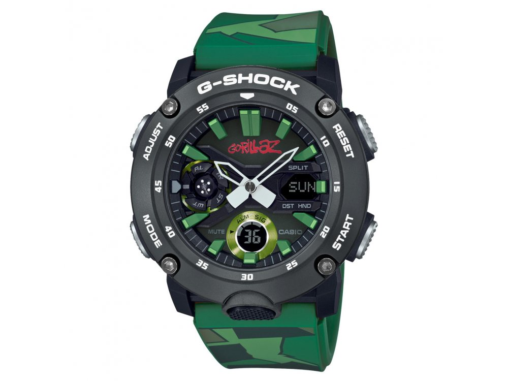 ЧАСОВНИК CASIO G-SHOCK GA-2000GZ-3AER