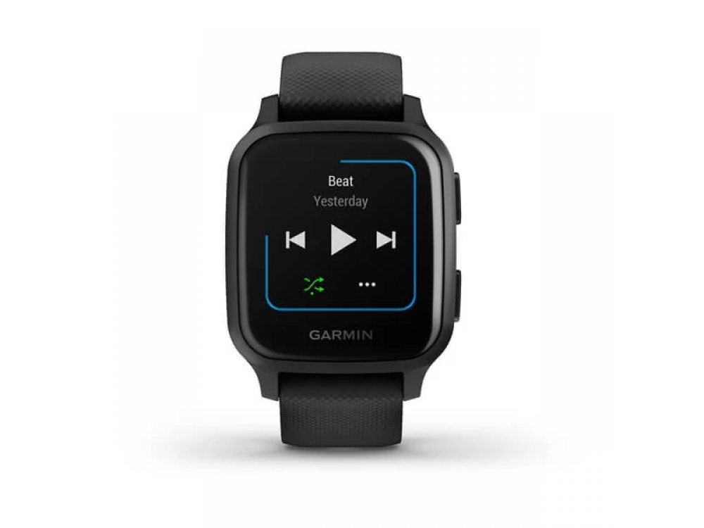 GARMIN VENU SQ MUSIC BLACK СЪС SLATE BEZEL  4