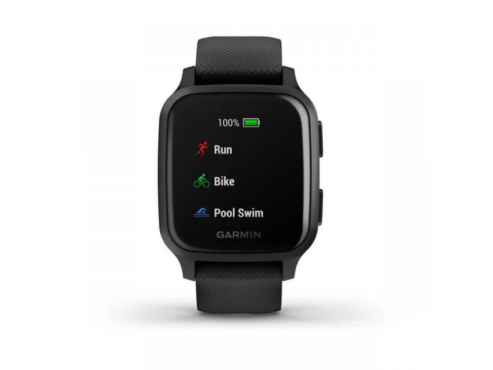GARMIN VENU SQ MUSIC BLACK СЪС SLATE BEZEL  3