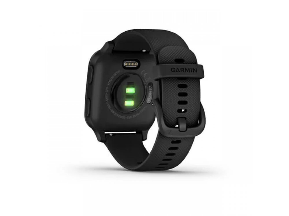 GARMIN VENU SQ MUSIC BLACK СЪС SLATE BEZEL  5