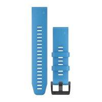 Garmin QuickFit 22 Cyan Blue силиконова каишка
