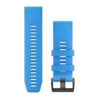 Garmin QuickFit 26 Cyan Blue силиконова каишка