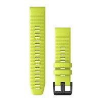 Garmin QuickFit 22 жълта силиконова каишка