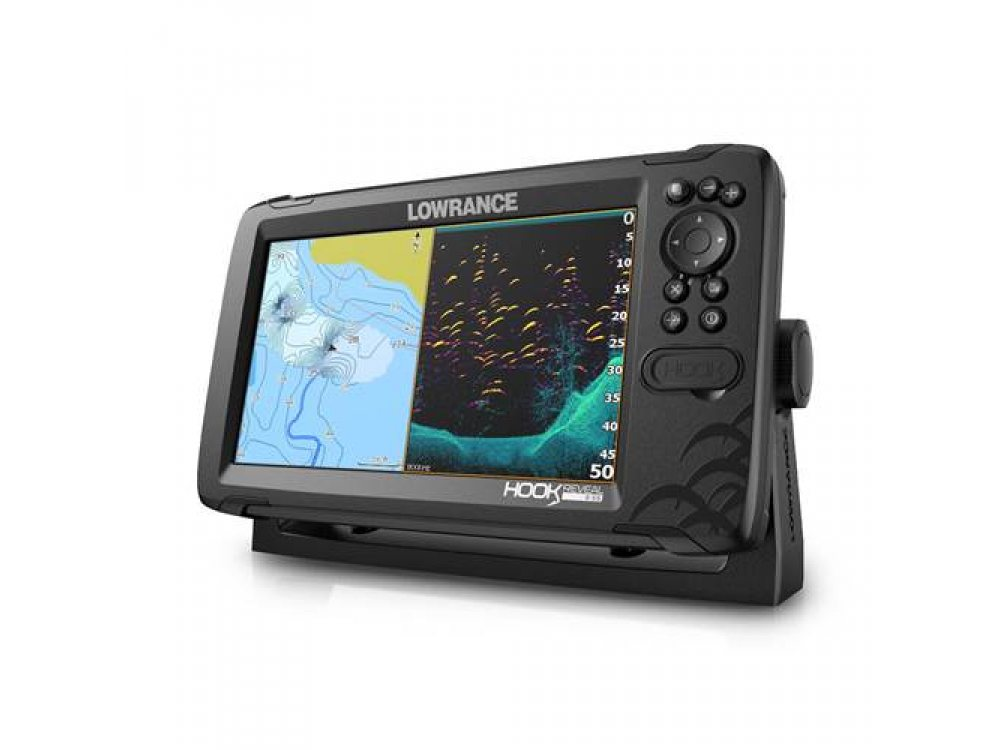СОНАР LOWRANCE HOOK REVEAL 9 СЪС СОНДА 50/200 HDI 2