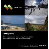 Карта на България OFRM GEOTRADE